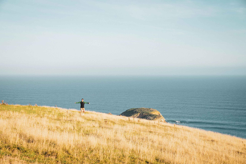 Joey Blatnik on a surf adventure in the Catlins in New Zealand