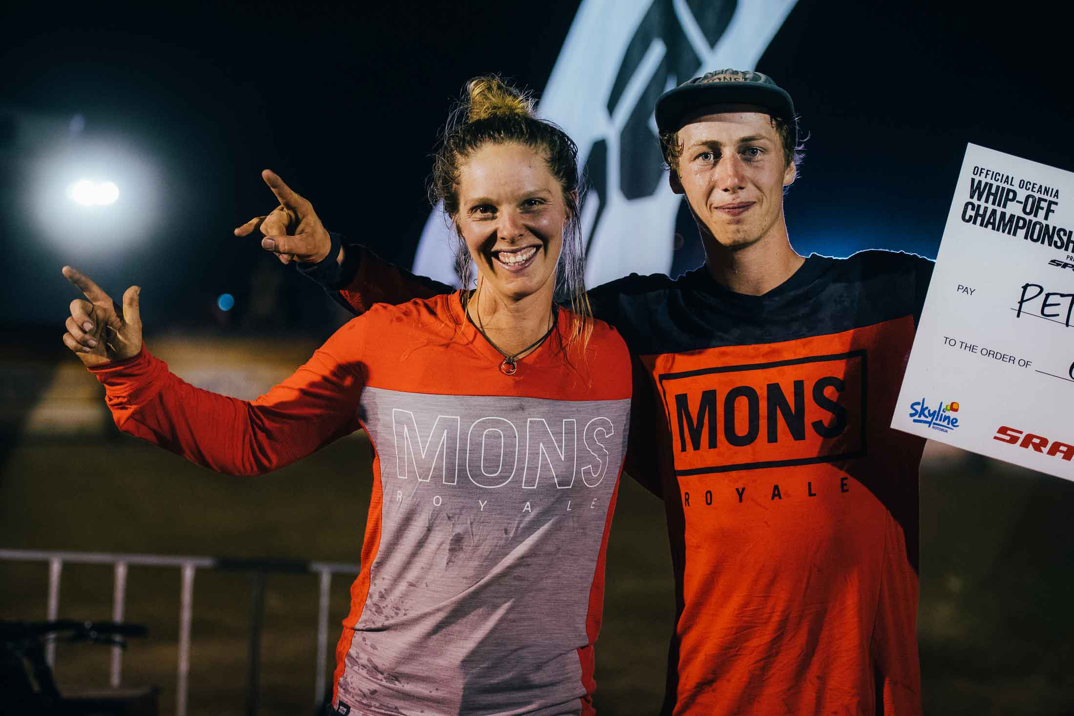 Ronja Hill-Wright and Peter Kaiser both claim podiums at the Whip-Off