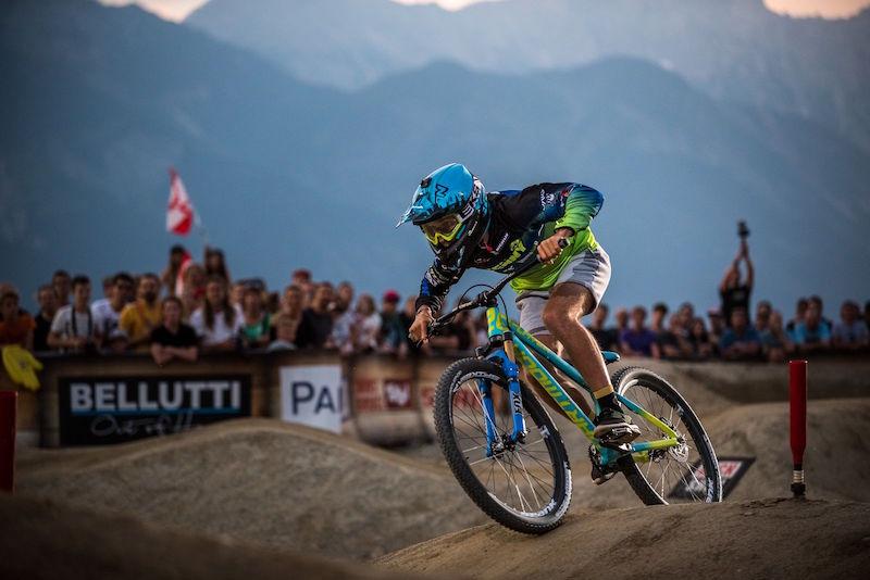 Crankworx Innsbruck Pump Track Chaney Guennet